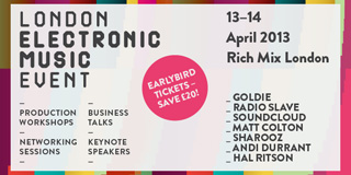 Outpost Media at London Electronic Music Event