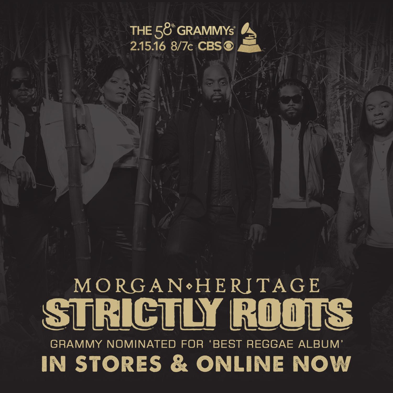 Morgan Heritage nominated for 'Best Reggae Album' Grammy