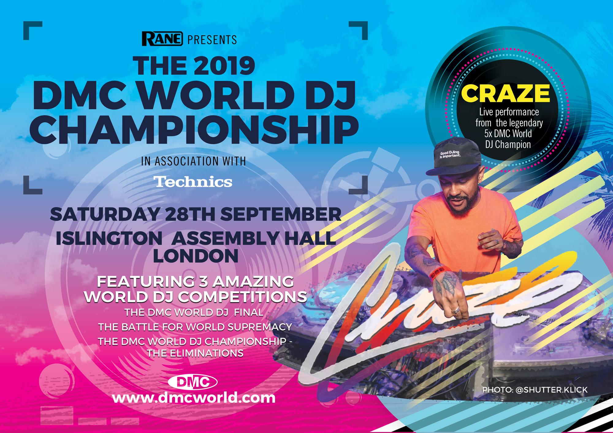 DMC World DJ Championship Finals 2019, Islington